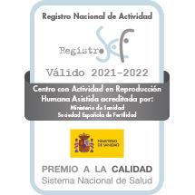 Sello Registro Nacional Calidad 2021-2022